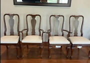 Vintage Ethan Allen Dining Chairsset Of 4 11 6400-205 Great Condition