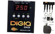 Digiq Dx3 Bbq Temperature Controller And Digital Meat Thermometer For Big