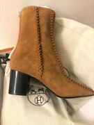 Boots Bottines Marron Suede Hermes 39 Neuf Nouvelle Collection Sold Out