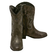 Womens Cowboy, Western Boots Size 7 Jessica Simpson Girls 5