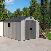 Lifetime 8and039 X 12.5and039 Resin Outdoor Storage Shed