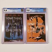 Something Is Killing The Children 1 9.8 Cgc 1st Print Cover A + 4th Print Boom