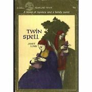 Twin Spell By Janet Lunn And Emily Arnold Mccully Excellent Condition