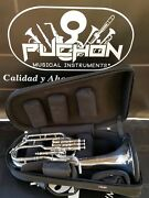 John Packer 372 By Sterling Silver Plated Eb Alto Horn- Professional