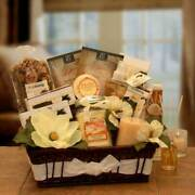 Vanilla Essence Candle Spa Gift Basket - Gift Baskets By Starr For All Occasions