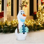 Frozen Olaf Airblown Christmas Inflatable 5.5-ft Tall Led Disney Free Shipping