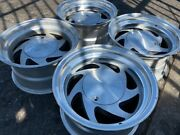 15 Vintage Wheels Rims Alloy Mag American Racing Blade Saw Cookie Cutter