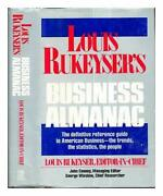 Louis Rukeyserand039s Business Almanac By John Cooney - Hardcover Mint Condition