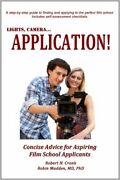 Lights, Camera, Application By Robert Cronk And Robin Madden Excellent Condition