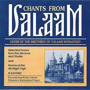 Choir Of Brotherhood Of Valaam - Chants From Valaam - Cd - Excellent - Rare