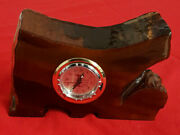 45000 Year Old Kauri Wood Clock From New Zealand. Radio Carbon Dated. W/ Tags