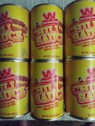 6 Wienerschnitzel Chili Sauce In Can 6 Cans Secret Recipe Free Shipping