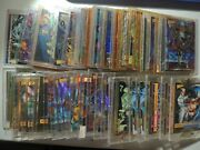 Wizard Magazine Huge Promo Card Lot Of 58 Some Serial Ed C-pics U Get All Shown