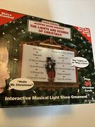 Hello Mr. Christmas Maestro Mouse Presents The Lights And Sounds Christmas New