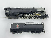 Ho Tenshodo 137 Brass Factory Painted Gn Great Northern S-1 4-8-4 Steam Loco