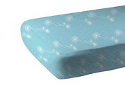 Dandelion Seeds Bamboo Muslin Crib Sheet - Gifts By Starr For Occasions And Holida