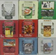 Yankee Candle Tea Lights Tealights Box Of 12 Choice Of Scent Free Shipping