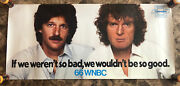 Rare Original Wnbc 66 Howard Stern And Don Imus Promotional Poster - Chevrolet