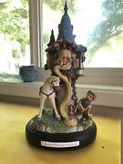 Rapunzel Tower Precious Moments Limited Edition