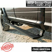 Amp Powerstep Plug-n-play Running Boards W/ Leds For 2017-2019 Ford F250 F350