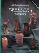 Weller American Art Pottery Patterns Dates Dimensions / Scarce Book + Values