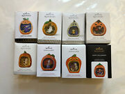 Hallmark Happy Halloween Ornament In Series 2013 To 2020 Lot Of 8 Ornaments