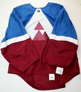 Nwt Authentic Adidas Colorado Avalanche Stadium Series Jersey Made In Canada 60g