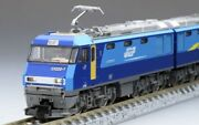 Tomix N Scale Model Railway Jr Eh200 Electric Locomotive Eco-power Blue Thunder
