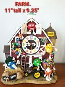 New M And M Bed And Breakfast Clock By Danbury Mint