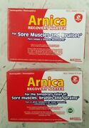 2 Pack Homeopathic Arnica Recovery Nartex For Sore Muscles And Bruises60 Tablets