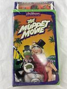 Jim Henson The Muppet Movie Vhs Vintage New Sealed 1993 With Novelty Watch