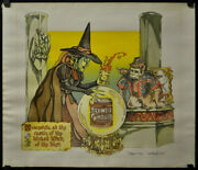Wizard Of Oz / Maxwell House Coffee 1978 Orig 24x30 Lithograph Cortlandt Hull