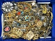 10 Lb Pounds Unsearched Huge Lot Jewelry Vintage Now Junk Art Craft Treasure Box