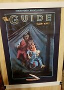 Remington Bullet Knife The Guide Poster Vintage 1991 Nos New Old Stock