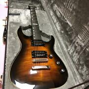 E-ii Horizon Sg Type Electric Guitar With Hard Case Safe Delivery From Japan