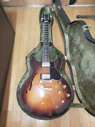 Yamaha Sa-1800 Vintage Semi-hollow Body With Hard Case Ships Safely From Japan