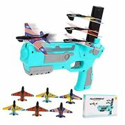 Kids Toys Gifts For 3 4 5 6 7 8 9 10+ Years Old Boys Girls Airplane Toy Blue