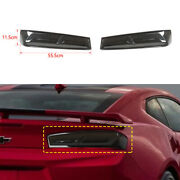 2pcs Tail Light Lamp Shell Cover Trim Accessories For Chevrolet Camaro 2015-2020