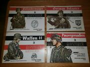 German Infantry Fallschirmjager Waffen Ss Panzergrenadiers In Action 4 Booklets