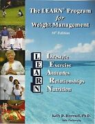 The Learn Program For Weight Management By Kelly Brownell Excellent Condition