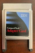 Ibm Pc Card Adapter For Ibm Microdrive P/n 00n7532 Compact Flash Pcmcia New