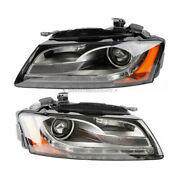 For Audi A5 Quattro And S5 2008 2009 2010 2011 Pair Valeo Headlight Assembly Tcp