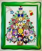 Christmas Tree Kids Watch Collection Framed Jewelry One Of A Kind Art Decor