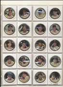 1964 Topps Coins Complete Set 1-164 Mid Grade With 3 Mantles 165 Coins Nice