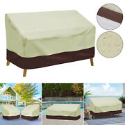 Windproof Patio Furniture Sofa Loveseat Cover Waterproof Outdoor Bench Cover