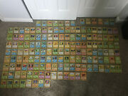 Pokemon Cards,vintage,90's,136 Cards,great Xmas Gift