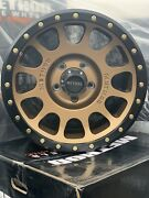 4 17x8.5 Method Nv305 Bronze With Black Ring Off-road Wheel And Tire Wrangler