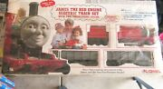 Thomas The Tank - James The Red Engine Lionel Electric Train Set Nos