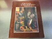 Ducks Unlimited Magazine Sep/oct 1982pre-owned