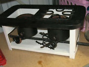 Vintage 1920and039s Sears Kenmore 2 Burner Kerosene Cook Stove In Excellent Condition
